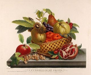 La Corbeille de Fruits. After Jean-Baptiste HUET II, b.1772