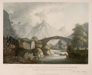 Valley of Glencoe. Archibald ROBERTSON, after Robert Andrew RIDDELL