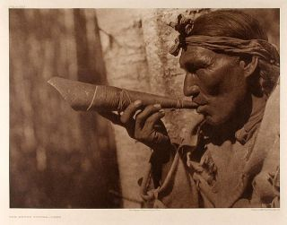 The Moose Hunter - Cree. Edward Sheriff CURTIS