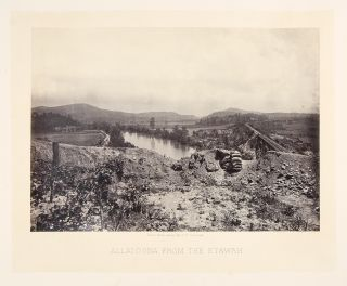 Allatoona from the Etawah. George N. BARNARD