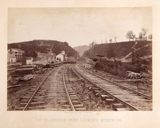The Allatoona Pass looking North. Ga. George N. BARNARD