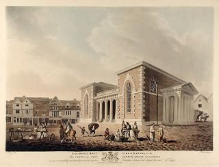 View of the New Council House, Salisbury. Francis JUKES, after Edward DAYES