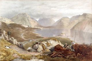 Wast Water. James Baker PYNE, W. GAUCI