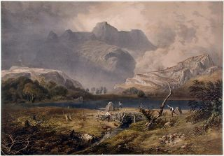 View of the Lake District]. James Baker PYNE, W. GAUCI