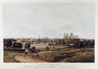 South East View of York. Robert HAVELL, after Henry CAVE