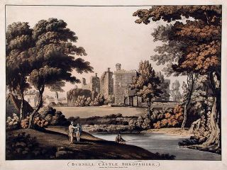 Burnell Castle Shropshire. ANONYMOUS