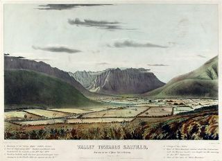 "Valley towards Saltillo, From near the base of ""Palace Hill,"" at Monterey (Looking to the S...."