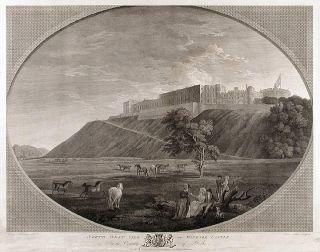 North West View of Windsor Castle, In the County of Berks. James FITTLER, after George ROBERTSON