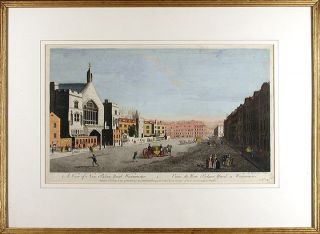 A View of New Palace Yard Westminster: Veüe de New Palace Yard a Westminster. John BOYDELL
