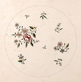 An original design for a porcelain plate. SAMSON, CO, designers