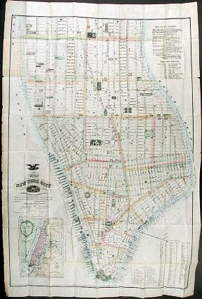 Map of New York City south of 46th. St. Matthew DRIPPS, publisher