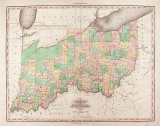 Ohio and Indiana ... Improved to 1825. H. S. TANNER, enry, chenck