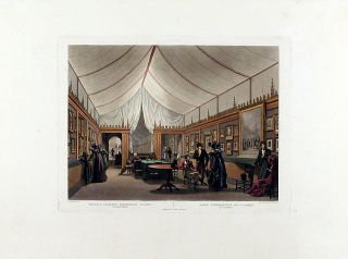 Monsr. J. Isabey's Exhibition Rooms, 61 Pall Mall / Salle d'Exhibition de J. Isabey, a Londres....