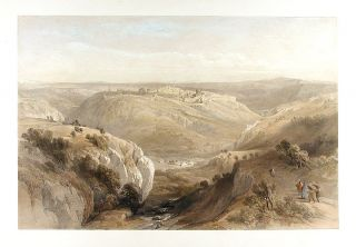 Jerusalem from the South] April 12th, 1839. David ROBERTS