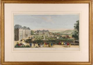A View of the Palace of Medon / Vue du Chateau de Medon [Meudon]. Jacques RIGAUD