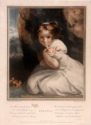 Felina. Sir Joshua REYNOLDS, Joseph COLLYER
