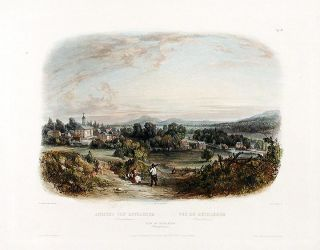 View of Bethlehem (Pennsylvania). Karl BODMER