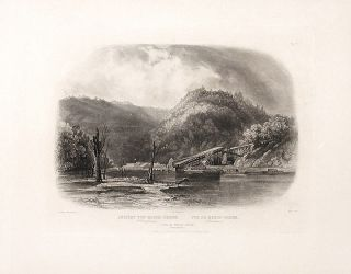 View of Mauch-Chunk (Pennsylvania). Karl BODMER