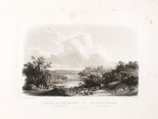 View on the Delaware, near Bordentown. Karl BODMER