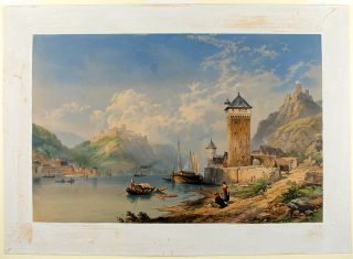 St. Goar on the Rhine. Thomas Miles RICHARDSON the Younger