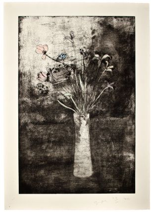 Hand Colored Flowers. Jim DINE