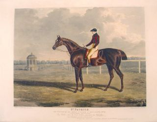 St. Patrick, the Winner of the Great St. Leger, at Doncaster, 1820. John Frederick HERRING,...