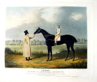 Jerry, the Winner of the Great St. Leger, at Doncaster, 1824. John Frederick HERRING, Thomas...