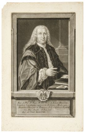 Albertus Haller. Johann Jacob HAID, after C. N. EBERLEIN