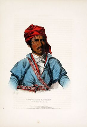 Timpoochee Barnard, an Uchee Warrior. Thomas L. MCKENNEY, James HALL