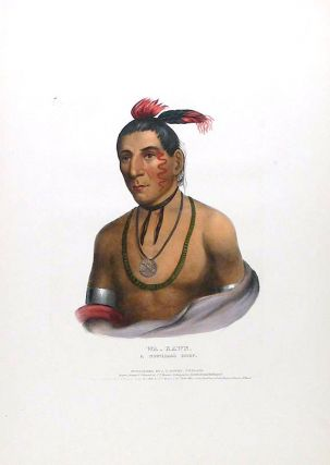 Wa-kawn, a Winnebago Chief. Thomas L. MCKENNEY, James HALL