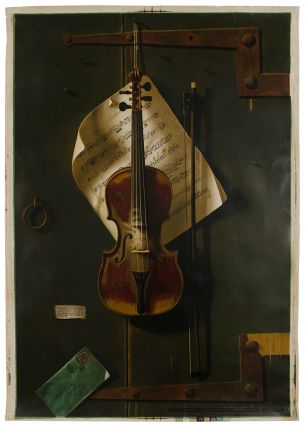 The Old Violin. William Michael HARNETT