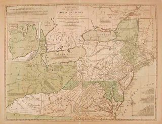 Bowles's New One-sheet Map of the Independent States of Virginia, Maryland, Delaware, Pensylvania...