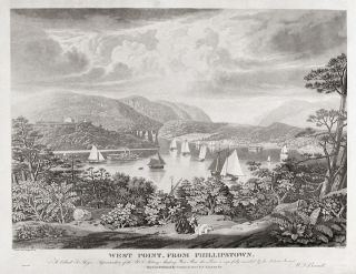 West Point from Phillipstown. To Colonel S. Thayer Superintendant of the U.S. Military Academy,...