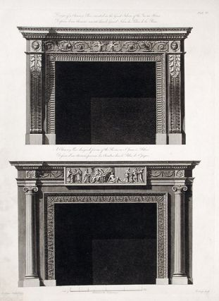 Design of a Chimney Piece executed in the Great Saloon of the Queens House / A Chimney Piece...