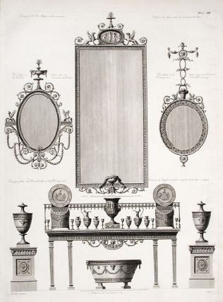 Design for Pier Glass. After Robert ADAM