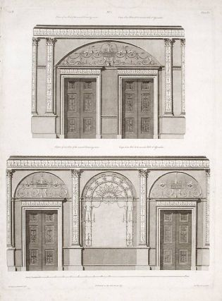 Section of One end and One Side of the Second Withdrawing-room. After Robert ADAM, James ADAM,...