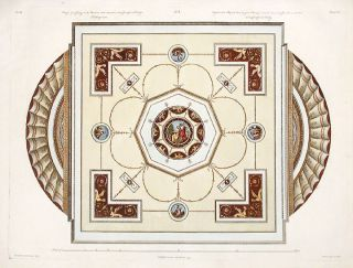Ceiling, in the Etruscan Taste, Executed in the Countess of Derby's Dressing Room. After Robert...