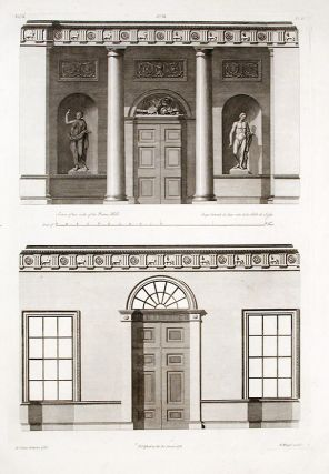 Section of Two Sides of the Porter's Hall. After Robert ADAM, James ADAM, d.1794