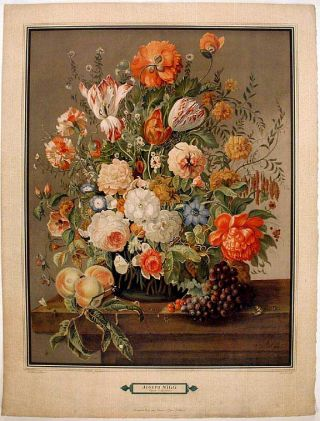 Bouquet of Flowers]. Joseph NIGG