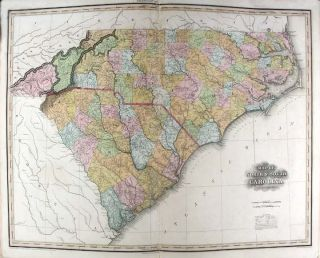 A New American Atlas containing Maps of the Several States of the North American Union, projected and drawn on a uniform scale from documents found in public offices of the United States and State Governments, and other original and authentic information by Henry S. Tanner
