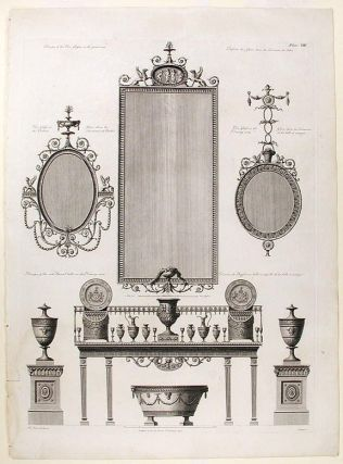 Design for furnishings. After Robert ADAM