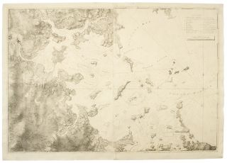 A Chart of the Harbour of Boston, Composed from different Surveys; but principally from that taken in 1769, by Mr. George Callendar, Late Master of His Majesty's Ship the Romney. J. F. W. - Samuel HOLLAND DES BARRES, surveyors George CALLENDAR, publisher, fl. around 1769.