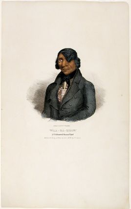Waa-Ba-Shaw A Celebrated Sioux Chief. Painted at the Treaty of Prarie de Chien 1825 by J.O....