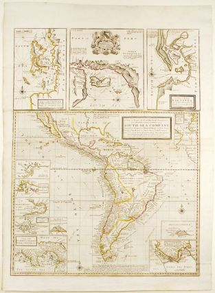 A New & Exact Map of the Coast, Countries and Islands within ye Limits of ye South Sea Company....