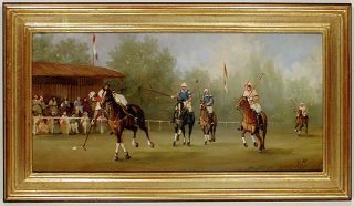 Edwardian Polo Match. Marco CERI