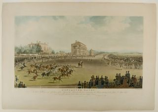 St. Leger The Start] Doncaster Races. To the Noblemen and Gentlemen of the Turf, and the...