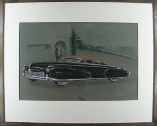 """Riviera Coupe"" Concept Art. Richard H. ARBIB"