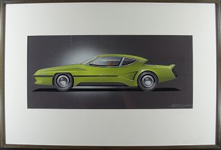Bricklin II Concept Art. Alex TREMULIS