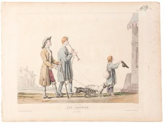 Scenes on the road]. Carle . - Philibert Louis DEBUCOURT VERNET, artist, engraver