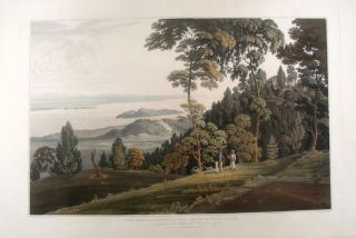 Malaysia] View from Halliburton's Hill, Prince of Wale's Island. William . - after Captain Robert...
